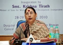 Smt. Krishna Tirath, Minister for Women and Child Development
