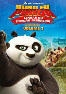Kung Fu Panda: Lendas do Dragão Guerreiro - Volume 3 - DVDRip Dublado