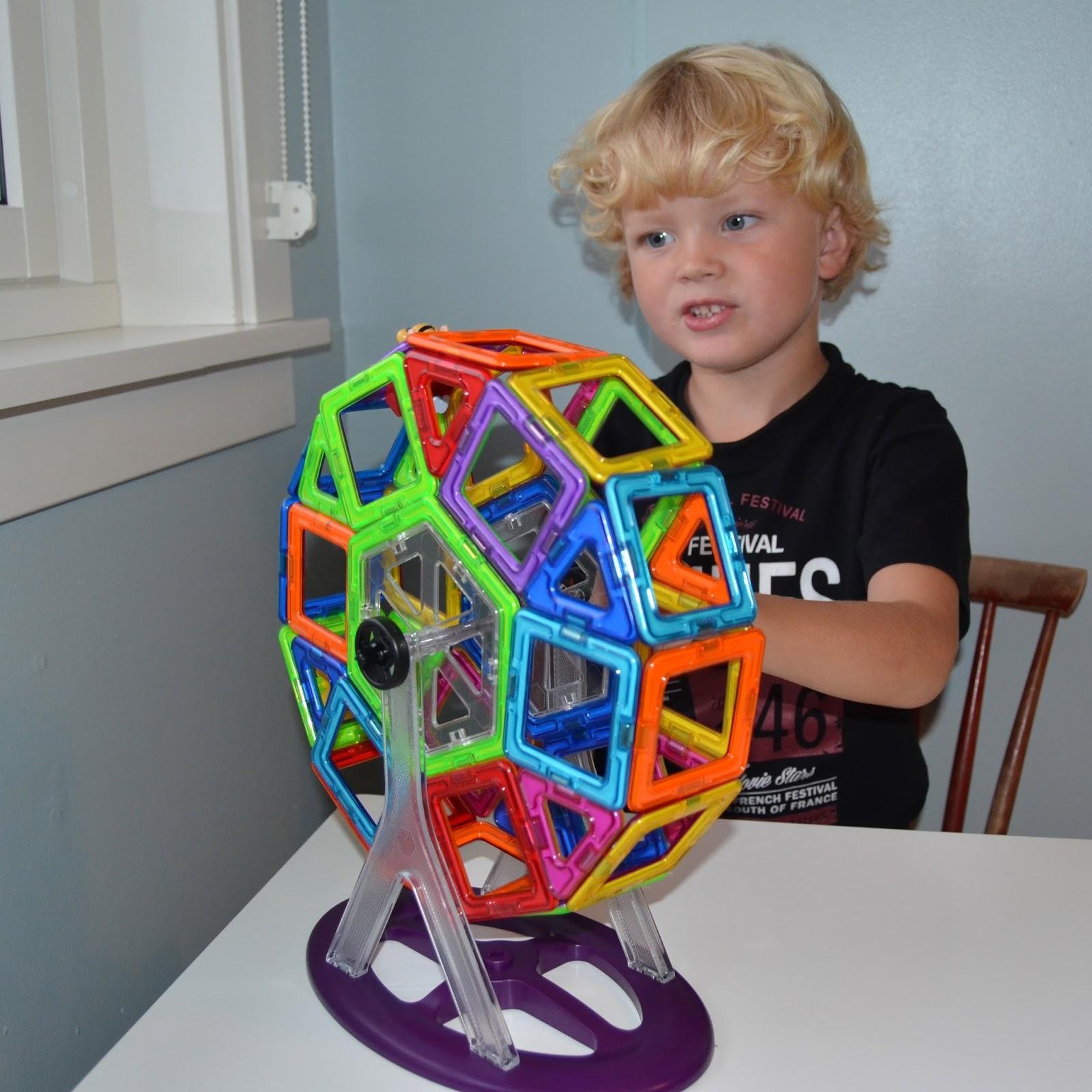 bygge med magneter