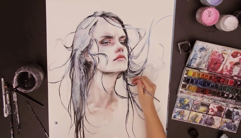 Agnes Cecile - Sped Up Painting - Obstinate Impasse