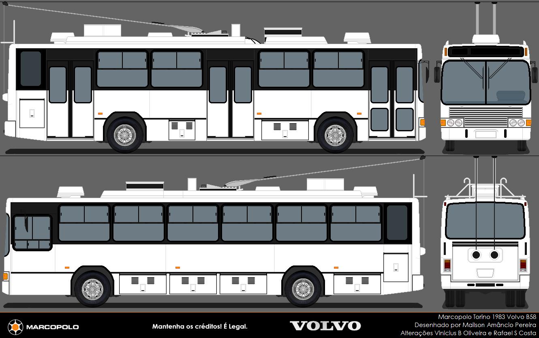 Marco Polo Torino : Central bus marcopolo torino volvo b trólebus