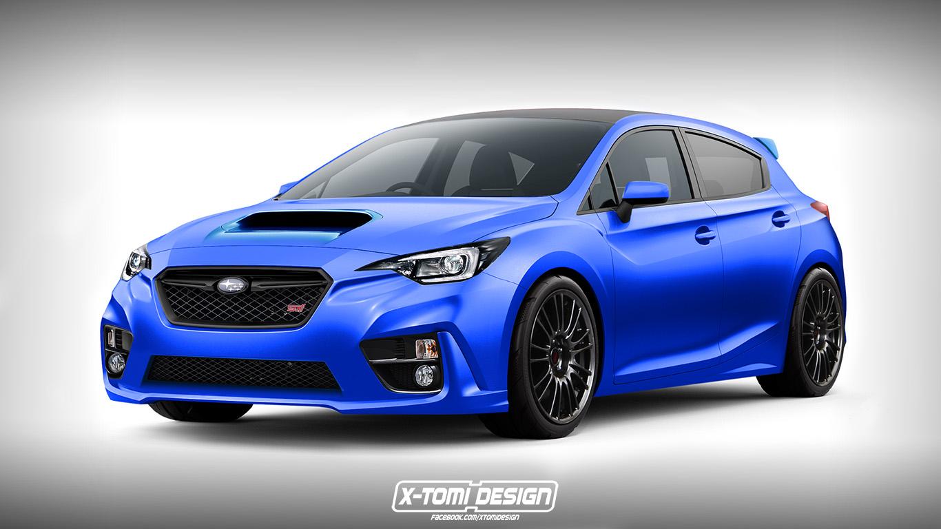 X Tomi Design Subaru Impreza Wrx Sti