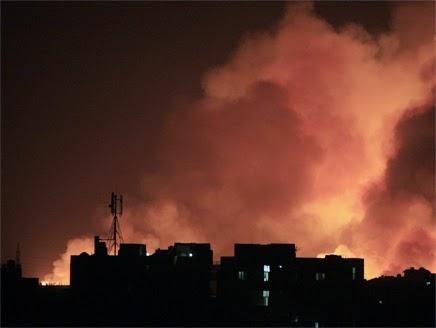 لماذا يتوحش اليهود على غزة في ليلا ؟