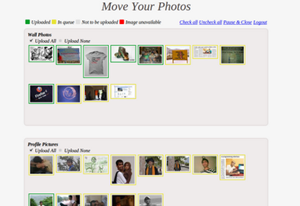 Move or export facebook photos and albums to google plus + picasa