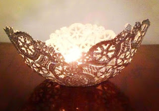 80 Amazing DIY Ideas With A Doily Do It Yourself