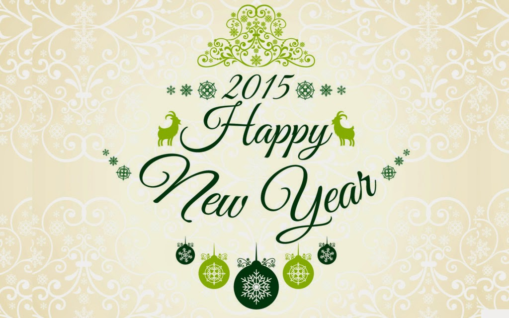 New year 2015 greetings and wallpapers here for free