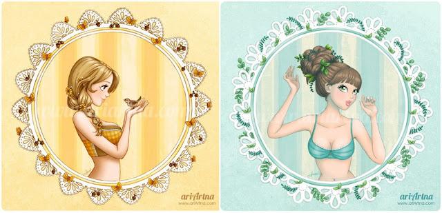 ilustraciones Ariadna Herrera
