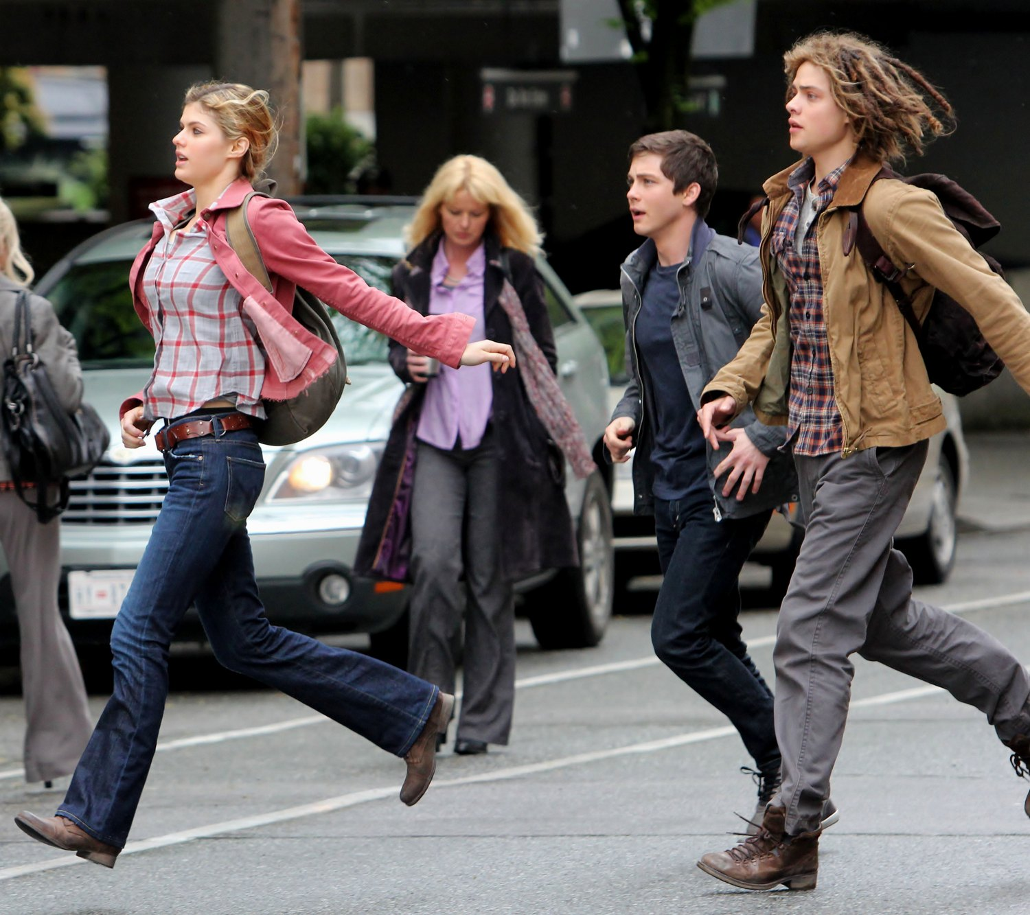 photos from the set of percy jackson sea of monsters