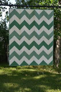 https://www.etsy.com/listing/178225616/green-baby-quilt-chevron-blanket-modern