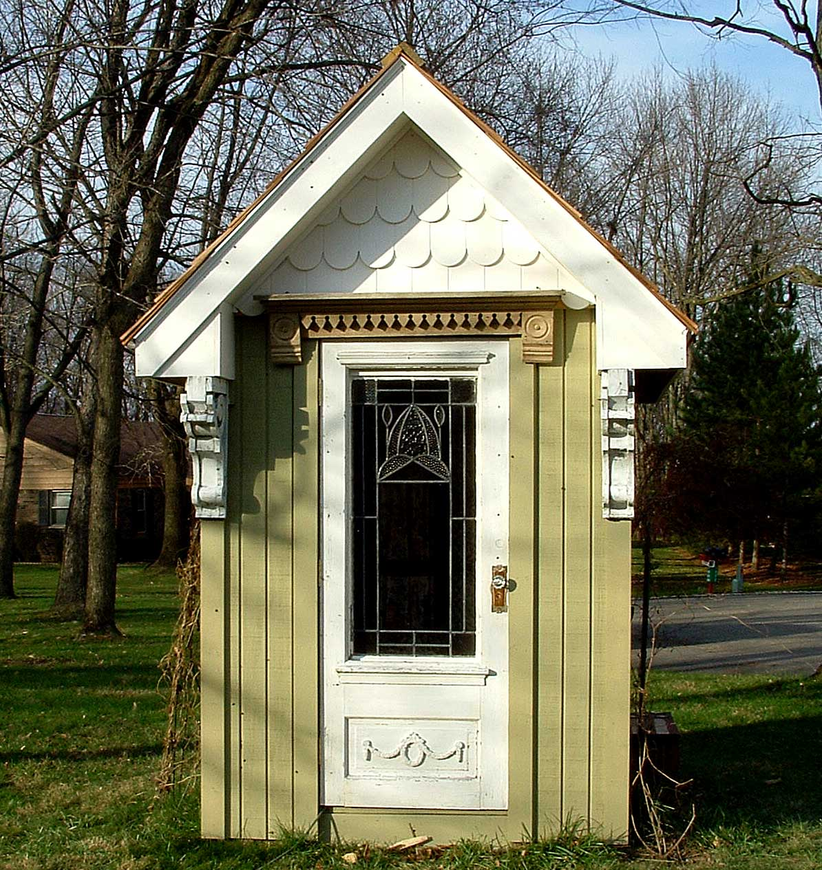 Victorian Backyard Sheds : heres a pic of the window and window box