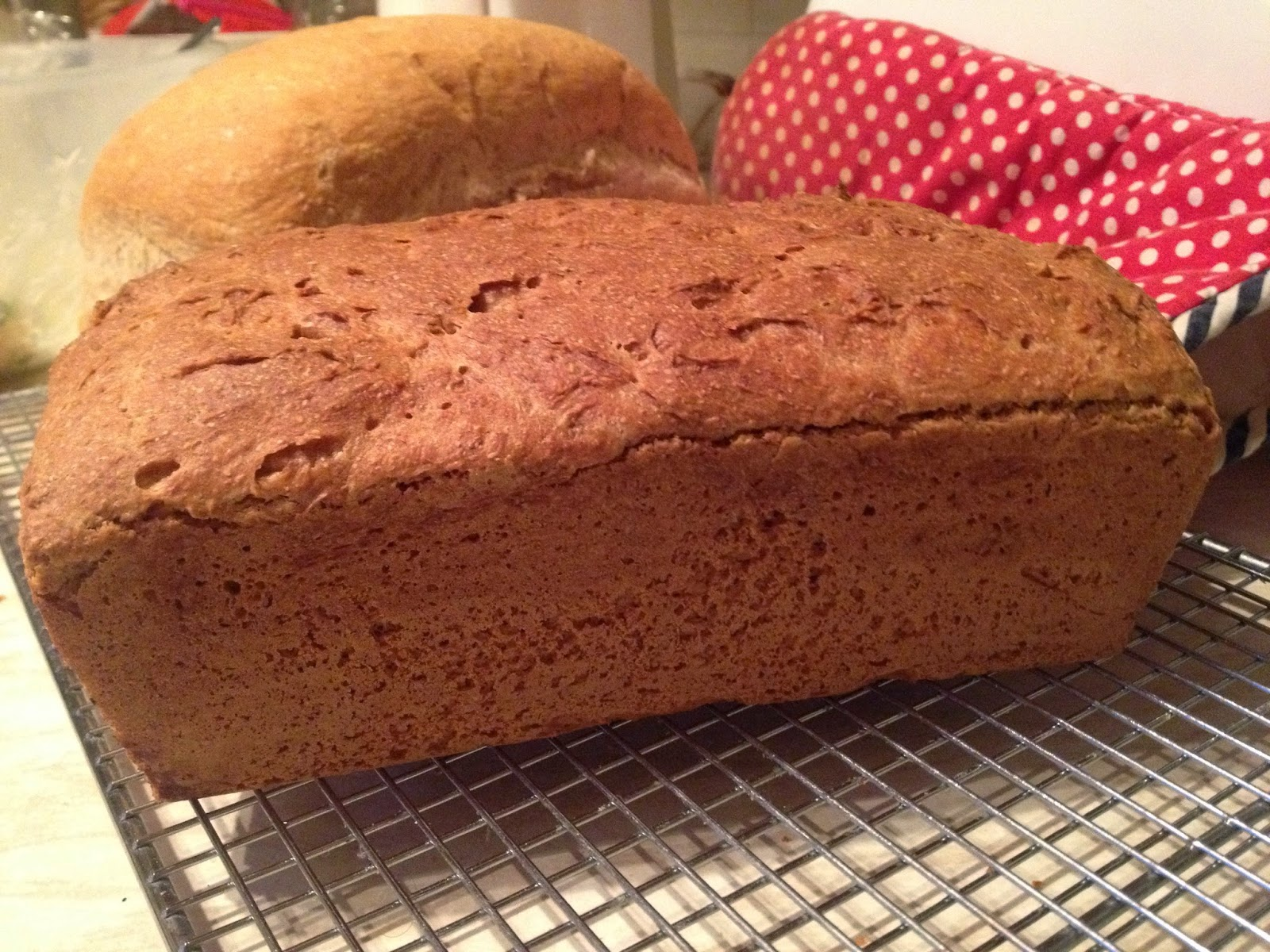 homemade wholemeal loaf