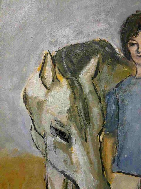 oleo cabeza caballo