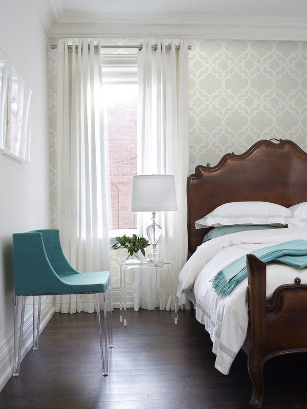 Contemporary Wallpaper Ideas: Refresheddesigns.: Quick Refresh: Wallpaper Accent Wall