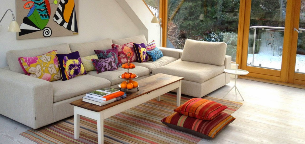 Baires deco design dise o de interiores arquitectura - Decoracion de sofas con cojines ...