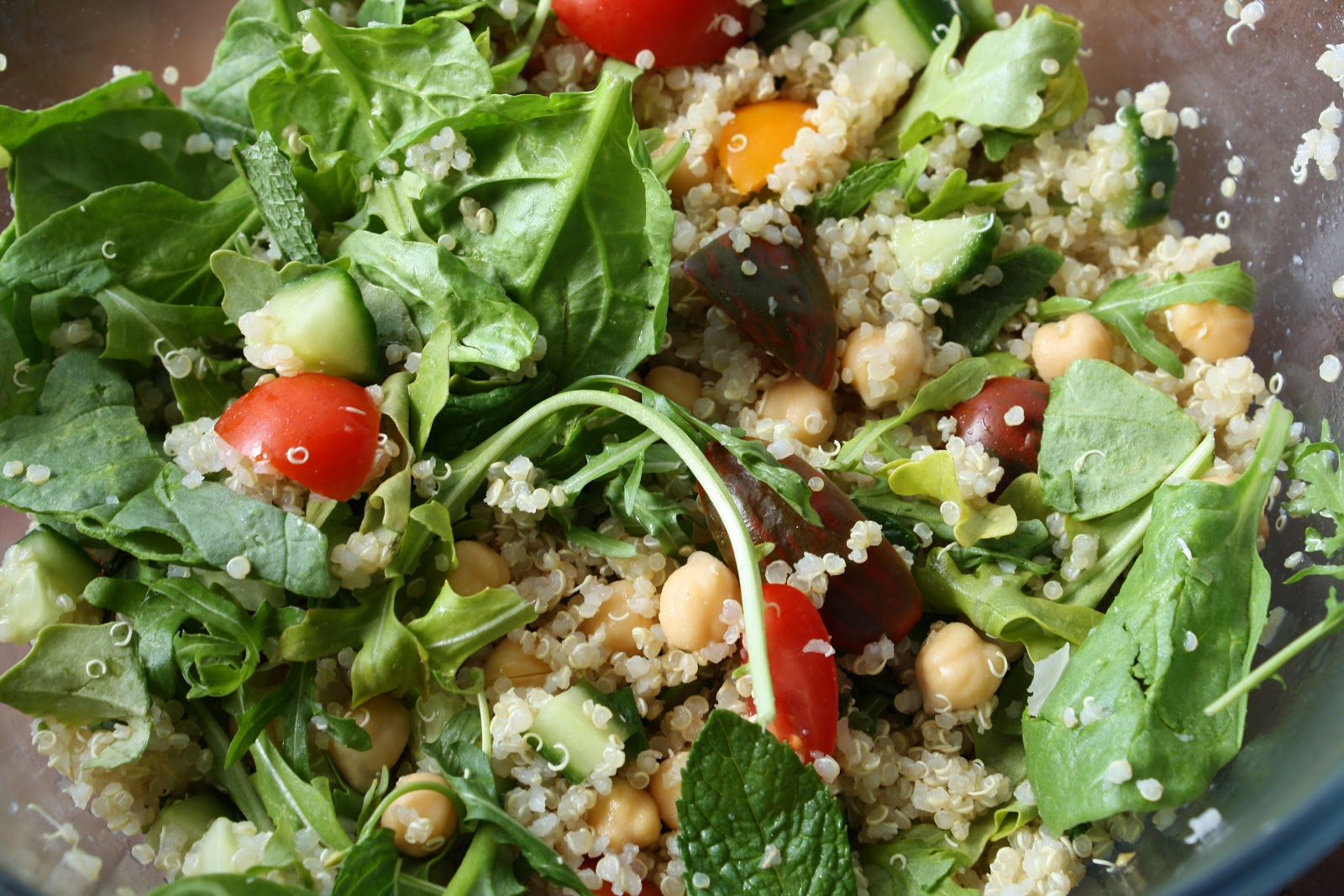 This salad holds up well for a few days; just toss in the dressing ...
