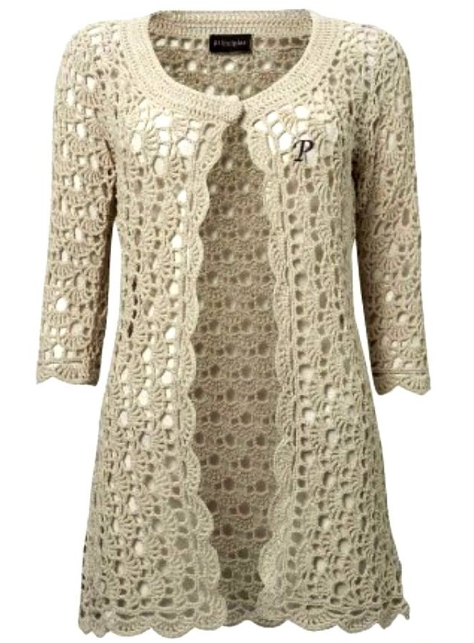 Crochet Patterns For Women s Cardigans : Basic Merino vest haakpakket - Wolplein.nl - Haken Pinterest