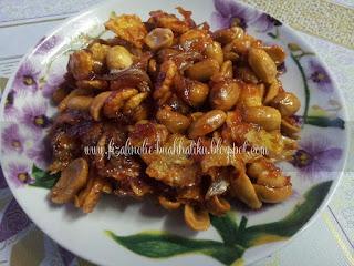 Cara Mudah Nak Buat Kacang Cornflakes Pedas