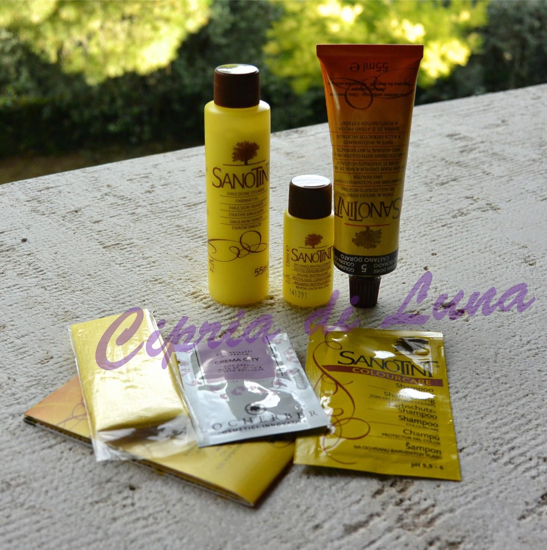 Tinta per capelli sanotint castano dorato cosval for Cosval sanotint