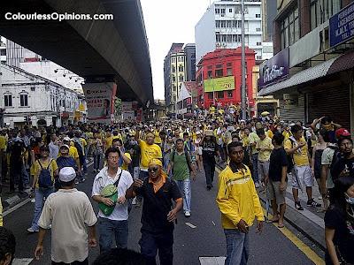 Bersih 3.0 Jalan Sultan to Leboh Pasar Besar to Jalan Tun Perak