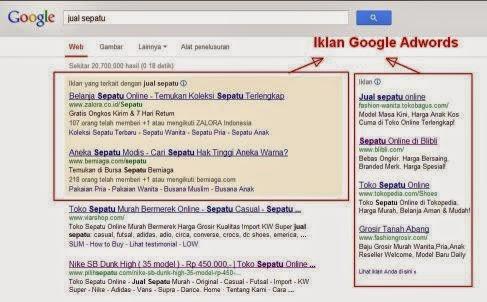 iklan berbayar adwords google