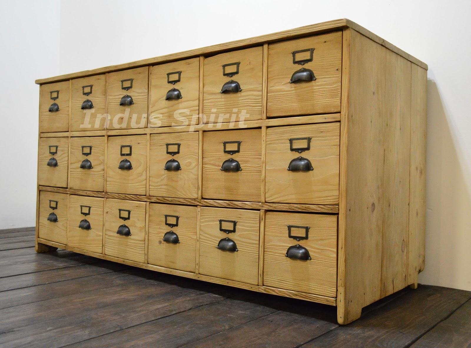 Ancien meuble de m tier for Meuble asiatique ancien
