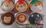 Cupcakes personalizados do tema Circo