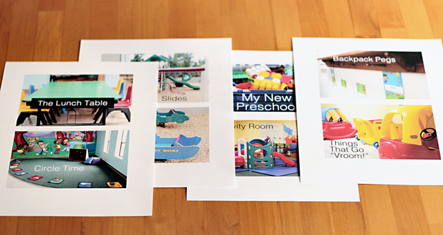 Preparing for Preschool with a Personalized Photo Book