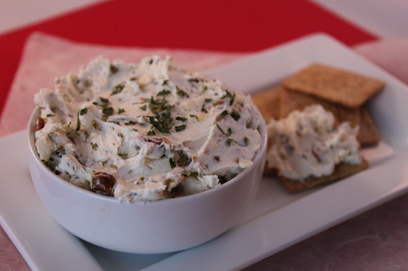 Garlic herb Cheese Spread | Meatless Meals for Meat Eaters