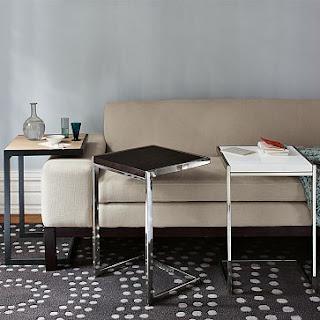 ROSE WOOD FURNITURE Tables That Slide Under Sofa