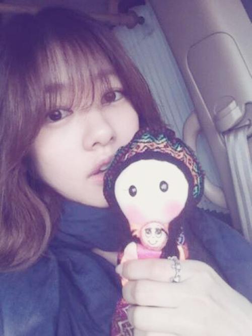Lovely Jung So Min (정소민) - Twitter Photo Update [March 4, 2013]