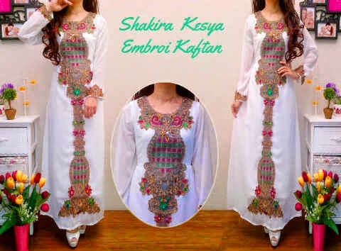 Material sifon cerruty ornameny bordir timpa.  Fit to XL
