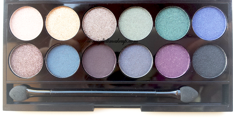 palette sleek makeup arabian night