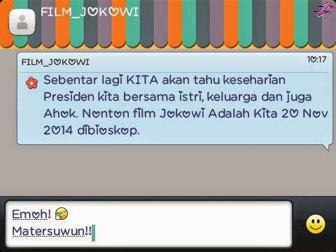 Baru Sehari Resmi Dirilis, Film 'Jokowi Adalah Kita' Berhenti Tayang di Bioskop Karena Tak Laku http://www.harsindo.com/