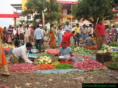 hoards of vegetable vendors