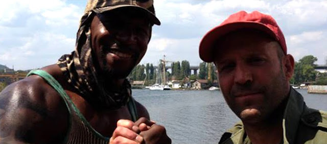 The Expendables 3 - Terry Crews si Jason Statham