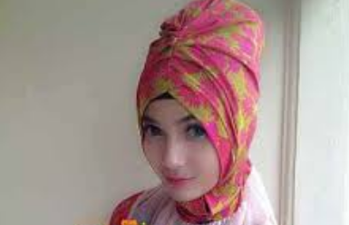 poto kerudung turban instan terbaru