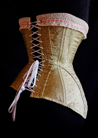 festive attyre edwardian corset and pattern review