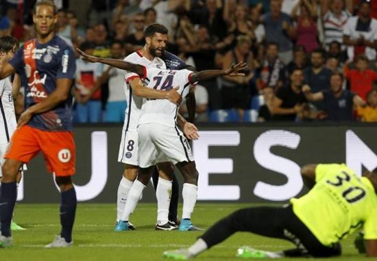 Montpellier 0 x 1 PSG - Campeonato Francês(Liga 1) 2015/16