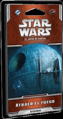 Expansión Star Wars LCG: Ciclo Escuadrón Pícaro - Atraer el fuego