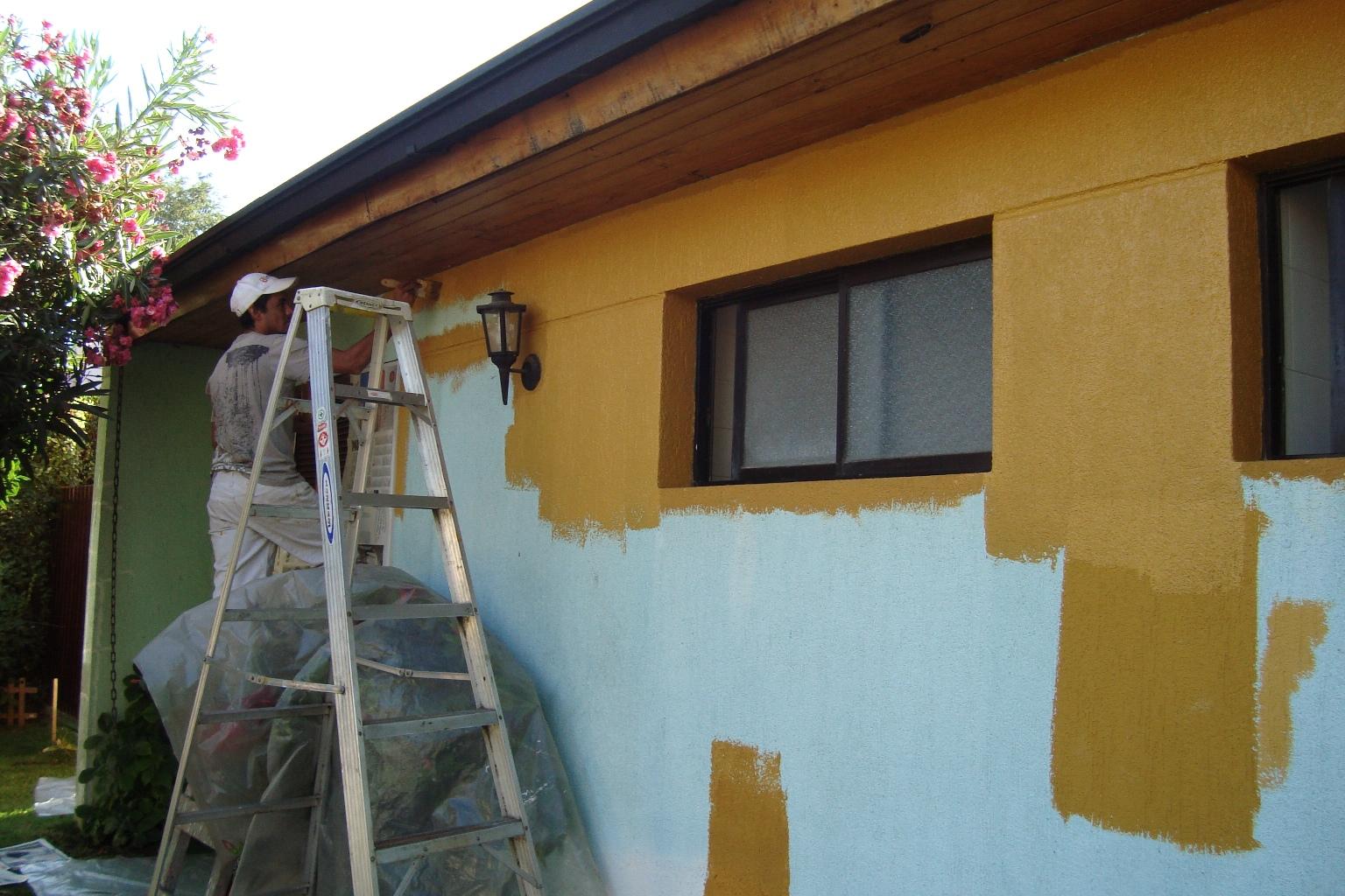 Construcci n total for Pintura para pared exterior