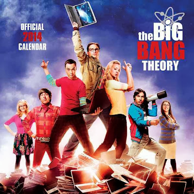 Calendario 2014 The Big Bang Theory