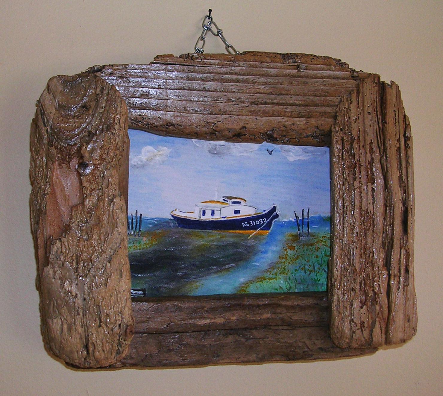 Bois de mer ao t 2011 for Peinture bois flotte