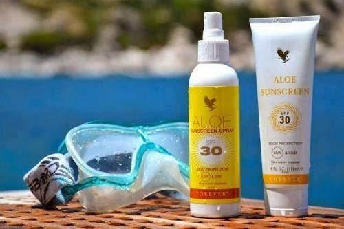 thành phần Aloe Sunscreen Kem chống nắng