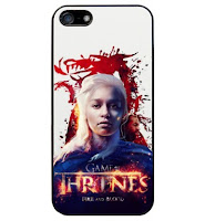 funda iphone Daenerys Targaryen khalees fire and blood - Juego de Tronos en los siete reinos