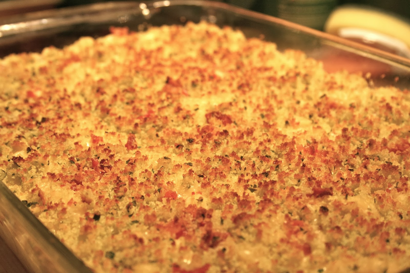 Macaroni And Cheese With Crunchy Crumb Topping Recipes — Dishmaps