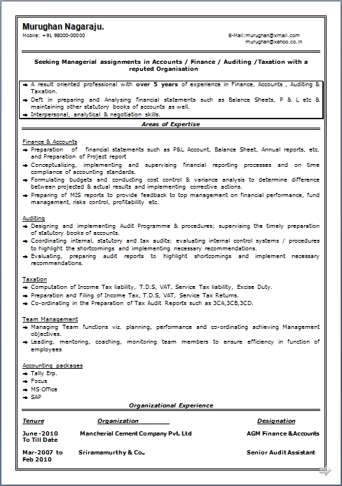 Sample Resume For Secretary Professional Resume  Resume Sample Of Mcom Having  Years Of  College Application Resume Sample Word with Office Assistant Resume Samples Resume Sample Of Mcom Having  Years Of Experience In Finance Accounts  Auditing  Taxation Free Download Resume In Pdf  Word Doc General Objective For A Resume Pdf