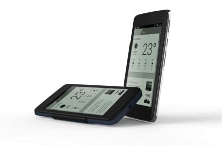 Un accessorio che permette di utilizzare la tecnologia E-Link su un phablet android per leggere tutti gli ebook