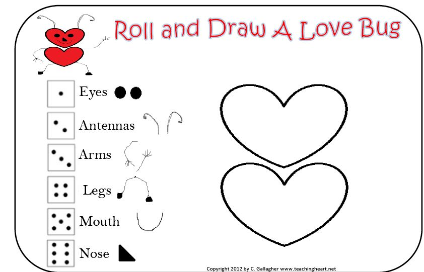 how to teach a toddler to draw a love heart