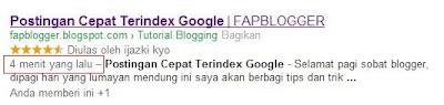 Cara Agar Postingan Cepat Terindex Google - www.zicblogger.blogspot.com