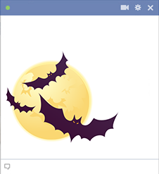Halloween Bats Emoticon